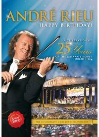 Cover André Rieu - Happy Birthday! - A Celebration Of 25 Years Of The Johann Strauss Orchestra [DVD]